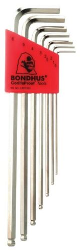 1.5-6 mm x-Bras Long Hex BallDriver ® L-clés avec briteguard ™ Bondhus USA #17092