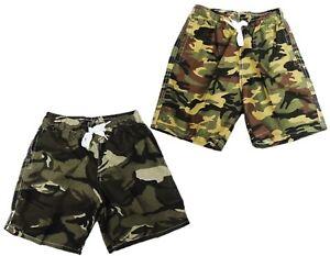 2er Pack Jungen Badehose Badeshorts 98 104 110 116 152 164 170 176 Camouflage
