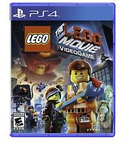 The LEGO Movie Videogame [PlayStation 4 PS4, Fun Kids Action Adventure Game] NEW