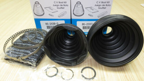 Front Inner /& Outer CV Axle Boot Kit for Land Rover LR4 2010 2011 2012 2013