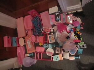 Huge lot of Barbie Furniture Tables chairs Kitchen furniture - Linden, New Jersey, United States - Huge lot of Barbie Furniture Tables chairs Kitchen furniture - Linden, New Jersey, United States