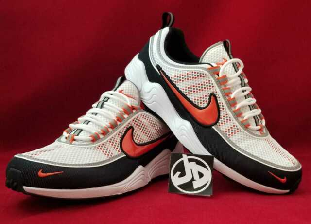 f1c3ef05e60f2 NIKE AIR ZOOM SPIRIDON  16 WHITE TEAM ORANGE RUNNING ( 926955 106 ) SIZE  11.5