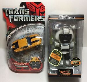 Transformers-Bumblebee-Action-Figure-amp-Hikari-Japanese-Grey-Skull-Vinyl-Figure