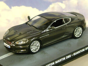 Details About 1 43 James Bond 007 Aston Martin Dbs From A Quantum Of Solace In Metallic Grey