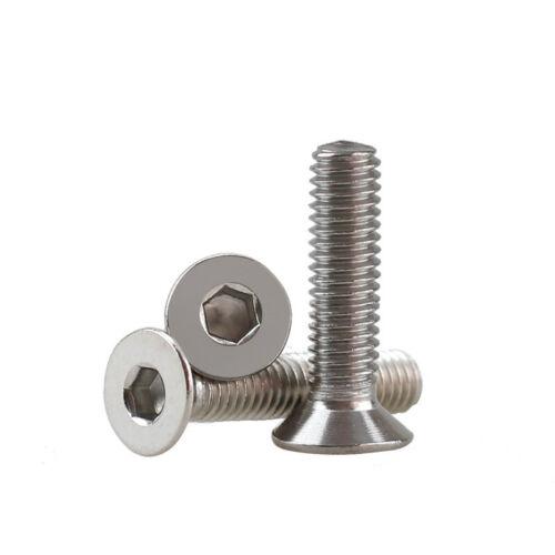 A2 SS Allen Bolts With Hex Nuts Screws Assortment Kit Practical 250pcs M2 2mm