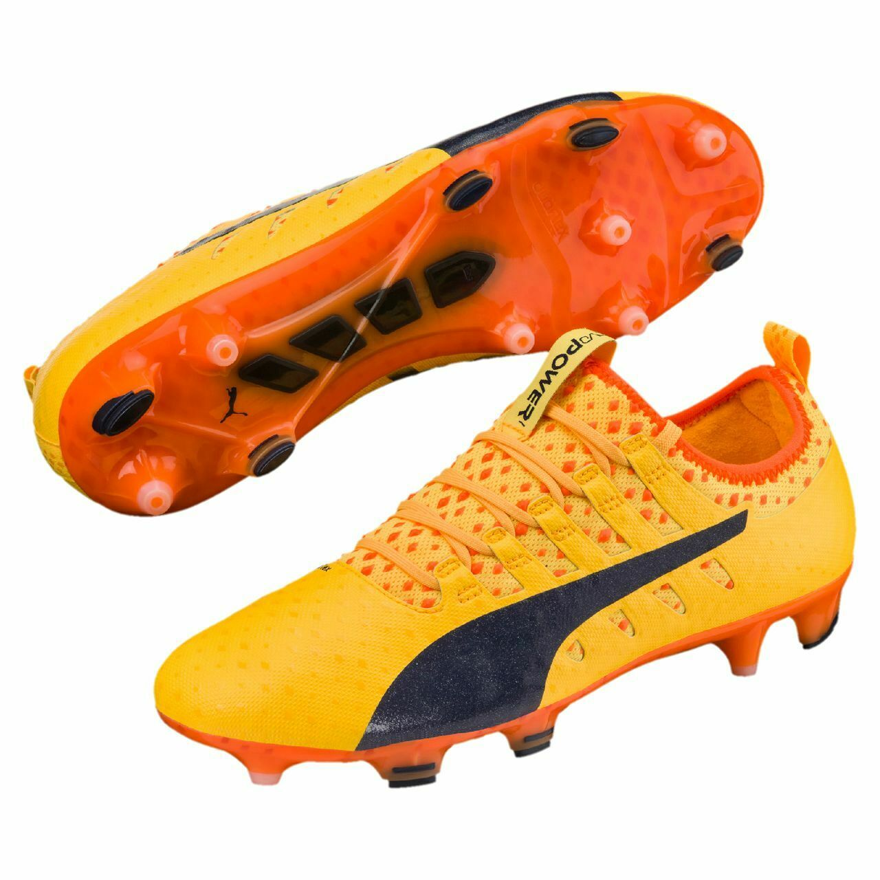 Puma Zapatos de Fútbol Evo Power Vigor 1 Fg 103824 07 Fútbol Hombre
