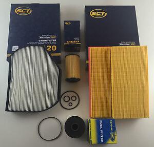 Mercedes classe c W203 C200 cdi mann cabine pollen intérieur filtre à air