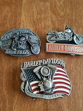 VINTAGE HARLEY DAVIDSON BELT BUCKLE/COLLECTABLES/BELT BUCKLES