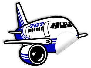 BOEING-B-767-B767-DIE-CUT-TO-SHAPE-DECAL-STICKER-4-5-x-3-5-in-11-5-x-9-cm