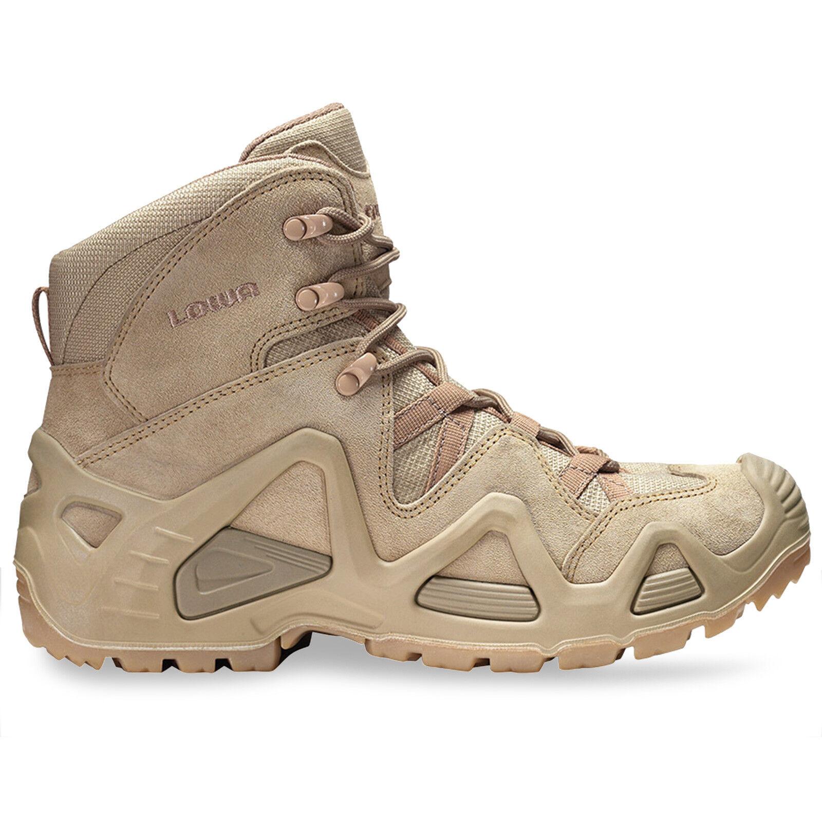 Da Uomo Lowa Zephyr Mid GTX GoreTex GoreTex GoreTex Impermeabile Tattico Militare dell'Esercito Deserto Stivali 46550a
