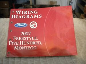 2007 Ford Freestyle Five Hundred Montego Wiring Diagram ...