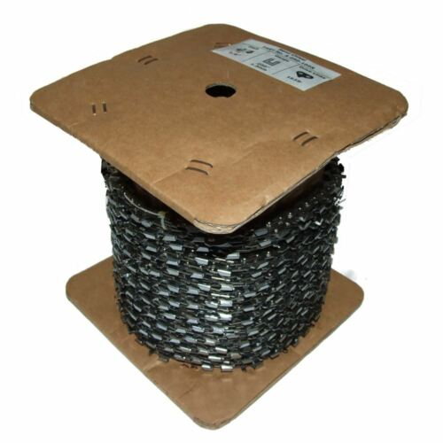 Chainsaw Saw Chain Archer 100 Ft Reel 3//8 .050 1.3mm 1635 Drive Links