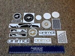 S/&m Bikes BMX Bicycle Decal Sticker Pack #1