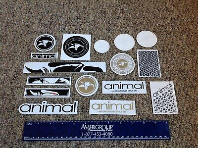 Animal Bikes Bmx bicycle decal sticker pack #9