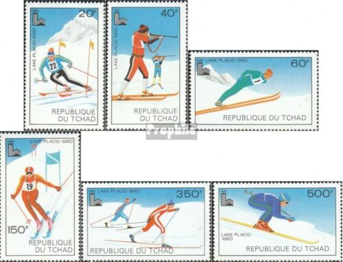 Chad 877882 unmounted mint never hinged 1979 Olympics Winter Games ´80