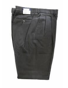 Burberry-Pantalone-Vintage-Sartoriale-Fustagno-Oversize-Cotone-Verde