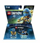 Lego Dimensions - Ninjago Fun Pack 71215 With Jay & Storm Fighter