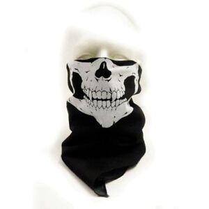 Set of 4 pcs 100% Cotton Skull Mask Headbands Bandanas Neck Warmer ... a11670cfe8d1
