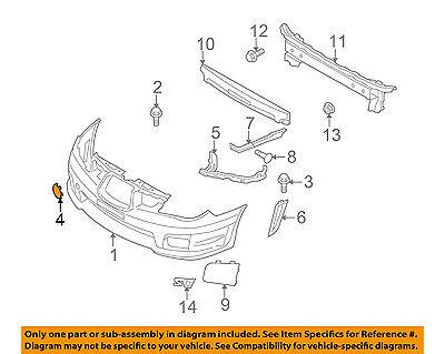 subaru oem 06-07 impreza front bumper-tow eye cap cover 55552fe010 ... subaru impreza parts diagram  ebay