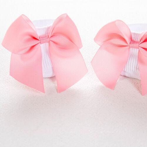 NEW Spanish //Romany Style Baby Girls School Kids Knee High Socks Ribbon Bowknot