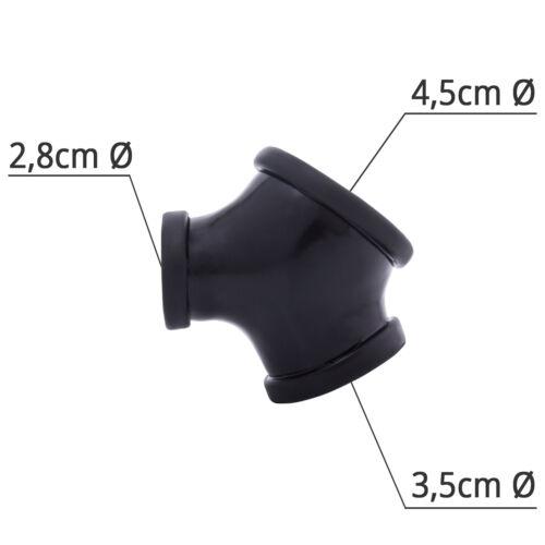 4.5 cm toylie Latex Pénis Housse Gil Argent Sans Tige Franco Domicile Latex Vêtements