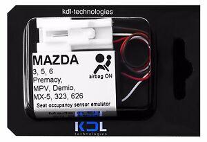 3 DEMIO MX5 6 5 Sitzbelegungsmatte Simulator MAZDA 323 MPV 626 PREMACY