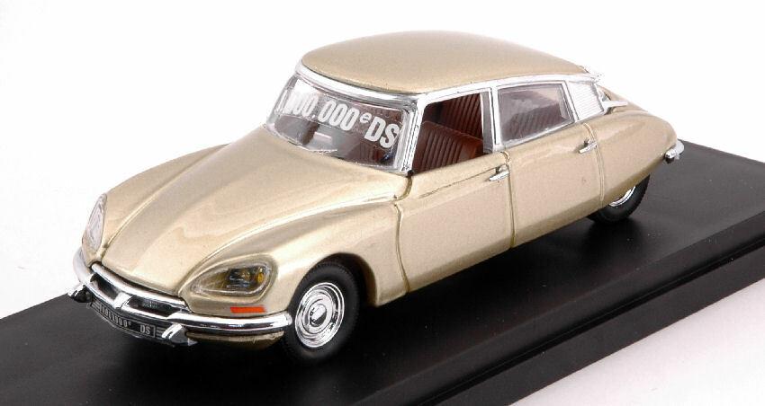 Citroen ds 21 n.1.000.000 1969 oro 1 43 auto stradali scala rio