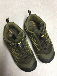 699339d095e Details about Keen Women's Green Brown Hiking Walking Shoes Size Sz 5