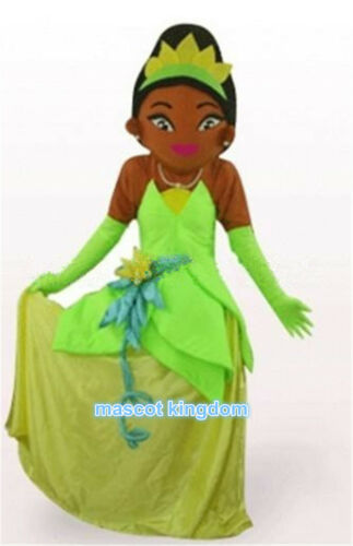 Princess Tiana Mascot Costume Carnival Festival Party Character Dress Adult Size