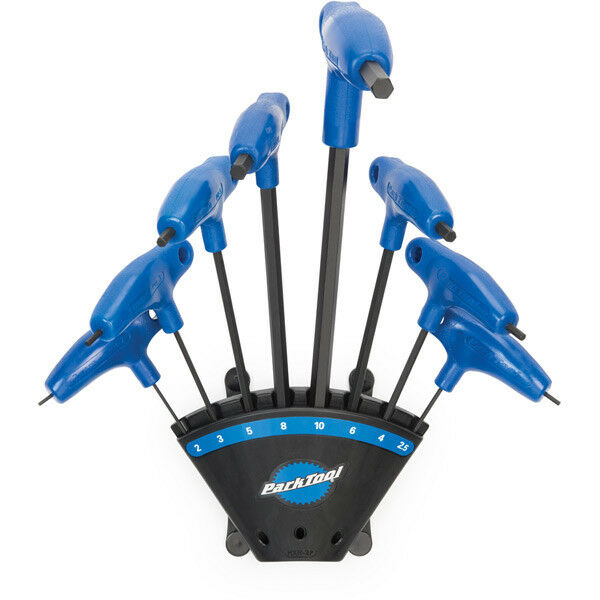 Park Tool P-Handled Hex Wrench Set with Holder PH-1.2