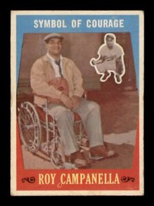 1959-Topps-550-Symbol-Of-Courage-Roy-Campenella-VG-EX-Surface-Wear-OBGcards
