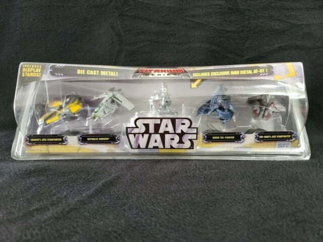 Star Wars Clone Wars AT-Action PORTABLE TITANIUM SERIES DIE-CAST Loose complet