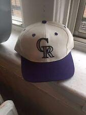 MLB Colorado Rockies snapback/hat/cap VTG 90s Helton Denver Baseball Holliday