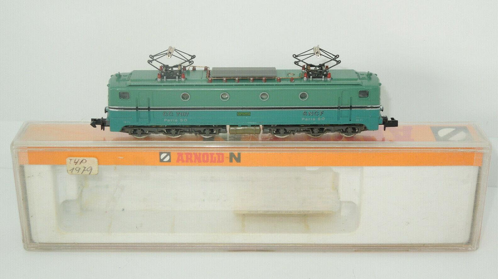 Arnold Spur N 2332 E-Lok der SNCF CC 7107
