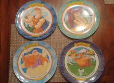 McDonalds Disney Hercules Plastic Plate Set 1997 Phil Zeus Megara Hercules Lot
