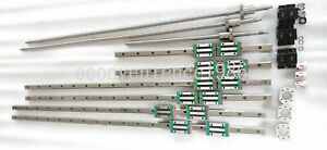 HGR20-800-1500-2900mm-HiwinLinear-rail-amp-RM2010-800-1500-2900mm-Ballscrew-amp-BF-BK15