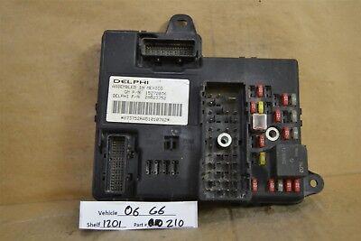 2006 Pontiac G6 Fuse Box Relay Unit 15272036 Module 10 ...