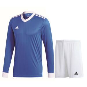 Adidas Football Soccer Mens Training Kit/Set Long Sleeve Jersey ...