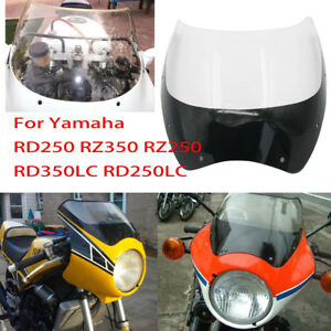 Details about Acrylic Windscreen Windshield For Yamaha RZ250 RZ350 RD350  250 RD350LC RD250LC