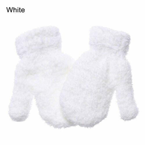 1Pairs Kids Toddlers Undercover Soft Touch Warm Magic Winter Mittens Gloves