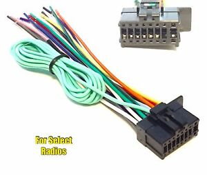 s l300 car stereo radio wire harness plug for pioneer avh x5700bhs avh pioneer avh-x4700bs wiring harness at fashall.co