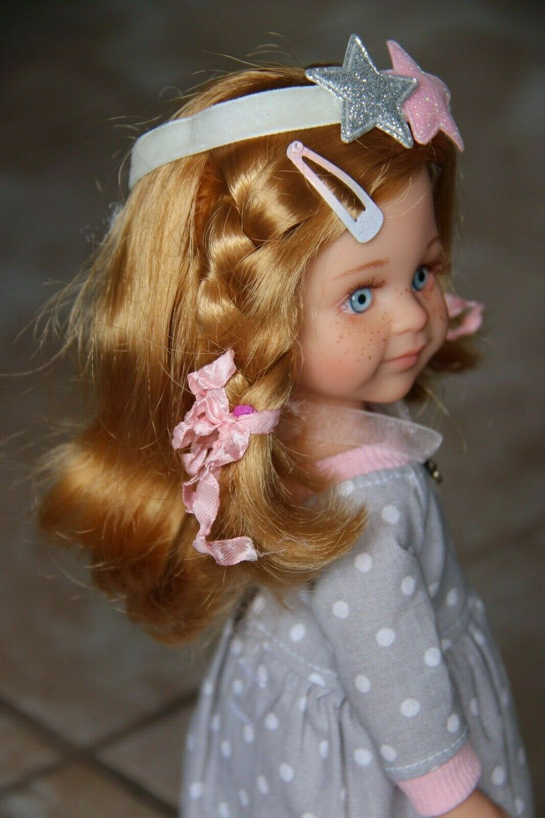 Paola Reina doll OOAK outfit dollMASHA13.5 34cm body 2018by iCukla