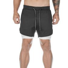 Malavita Mens 7 Workout Shorts Running Athletic Short with Towel Loop