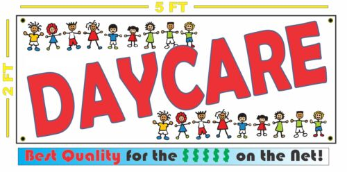 DAYCARE Banner Sign For Child Care Center or CHILDCARE School Business