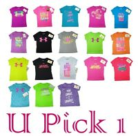 Under Armour T-shirt Cute Sayings Girls Children Kids Clothes Sports Athletic