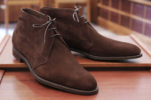 7c3b5b745ec Details about Handmade Mens Brown suede chukka boots, Men brown lace up  suede leather boot
