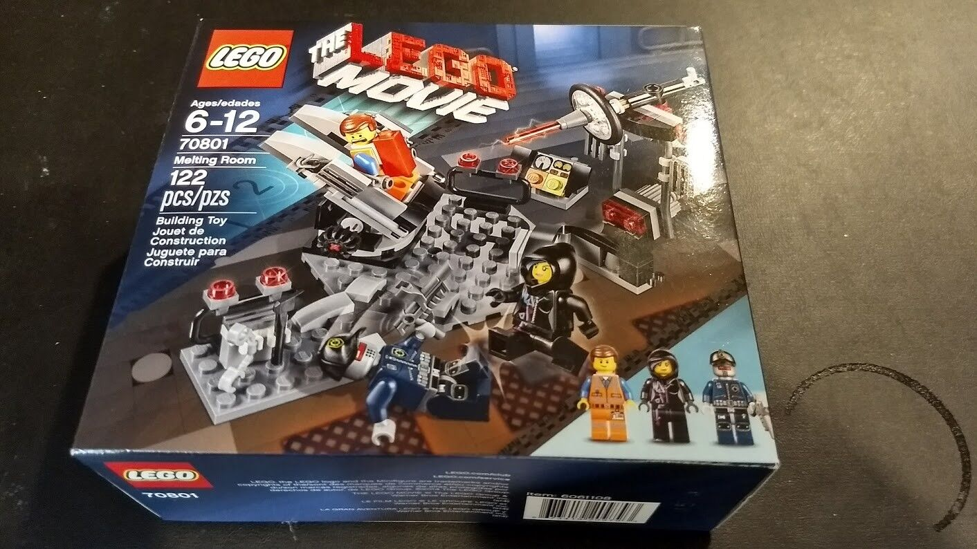 70801 MELTING ROOM lego NEW movie SEALED legos set emmit wyldstyle robo SWAT