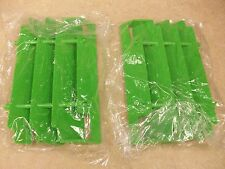 2 NEW OEM GREEN RADIATOR GUARDS SCREENS KAWASAKI KDX220 KDX 220 1997 1998-2003