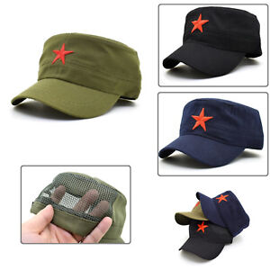 8c4ddbc911a Details about Che Guevara Hat Men Army Cap China Military Hunting Fishing  Trucker Star Patrol