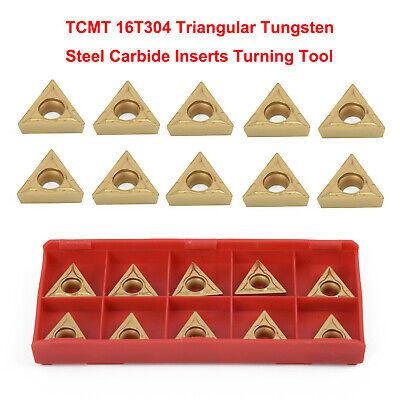 """10 Pc 1//2/"""" Lathe Indexable Carbide Insert Turning Tooling Bit Holder Set"""